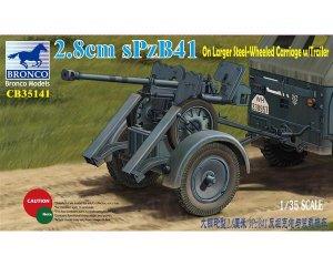 2.8cm sPzb41 On Larger Steel-Wheeled car  (Vista 1)