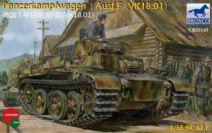 Panzerkampfwagen I Ausf.F  (Vista 1)