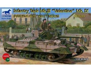 Infantry Tank Mk. III Valentine Mk. IX  (Vista 1)