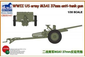 US army M3A1 37mm anti-tank gun  (Vista 1)