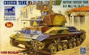 Cruiser Tank Mk.II/IIA/IIA CS British Cr  (Vista 1)