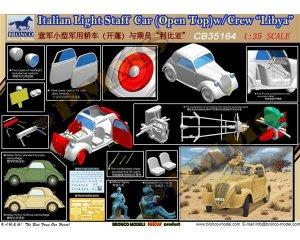 Italian Light Staff Car(Open Top) w/Crew  (Vista 2)