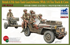 6 Pdr Anti-Tank Gun( Airborne)With 1/4 T  (Vista 1)