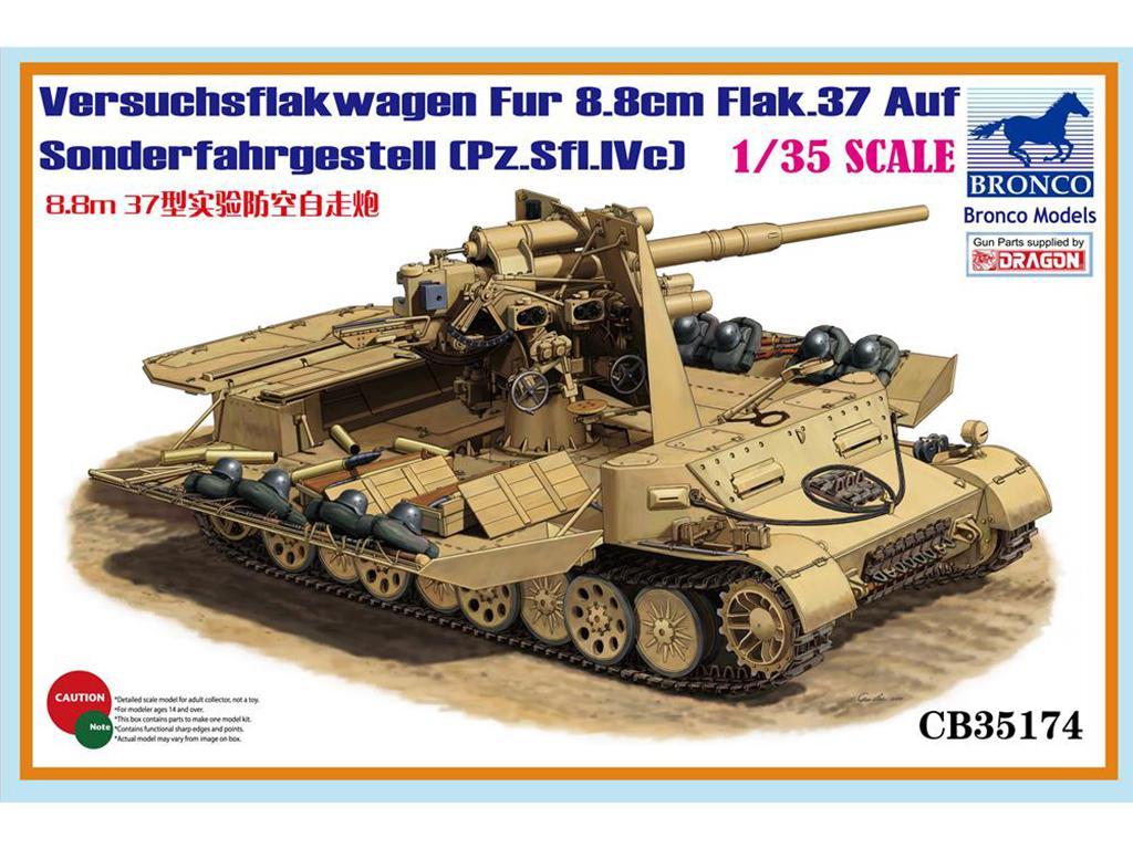 Versuchsflakwagen 8.8cm Flak 37 auf Sond  (Vista 1)