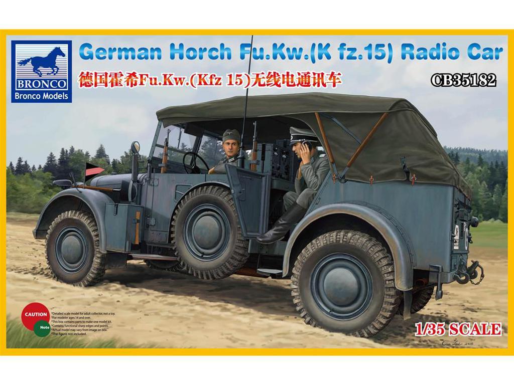 Horch Fu.Kw.(Kfz.15) Radio Car  (Vista 1)