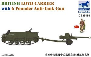 British Loyd Carrier with 6 Poundener An  (Vista 1)