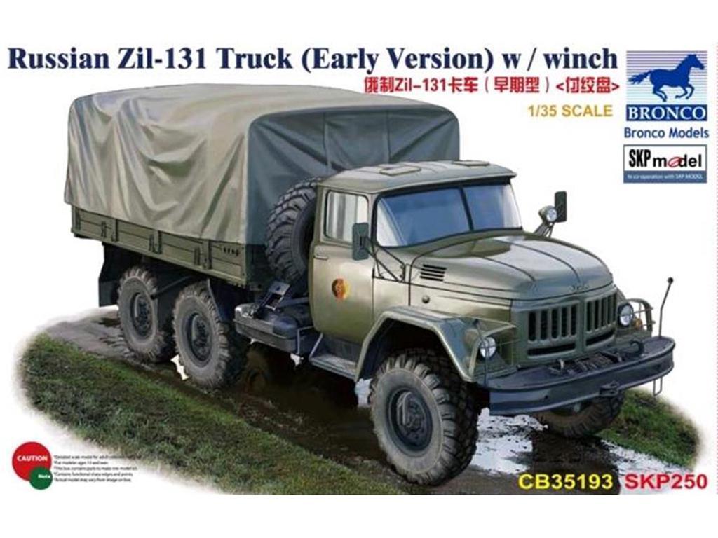 Russian Zil-131 Truck  (Vista 1)