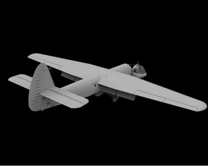 Airspeed A.S.58 Horsa Glider Mk.II  (Vista 3)