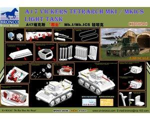 A17 Vickers Tetrarch MkI / MkICS Light T  (Vista 5)