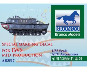 Special Marking Decal for LWS Mid-Produc - Ref.: BRON-CBA3517