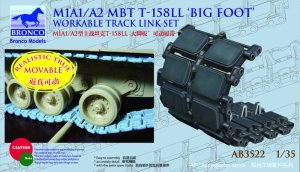 Cadenas US M1A1/A2 MBT T-158LL 'Big Foot