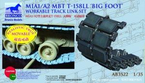 Cadenas US M1A1/A2 MBT T-158LL 'Big Foot  (Vista 1)