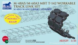 Cadenas US M-48A5/M-60A3 MBT T-142   (Vista 1)