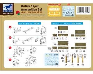 Set de munición inglesa de 17pdr   (Vista 2)