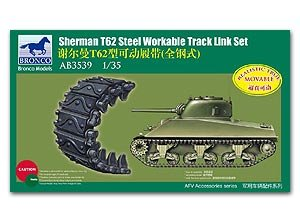 Cadenas Sherman Mod. T62  (Vista 1)