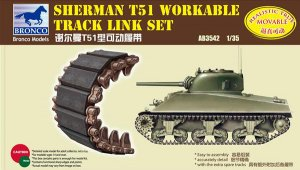 Set orugas de eslabones para Sherman T51  (Vista 1)