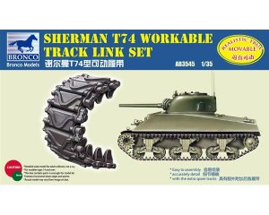 Set orugas de eslabones para Sherman T74  (Vista 1)