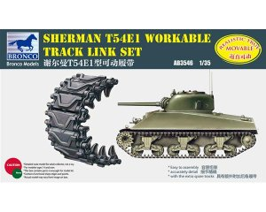 Set orugas de eslabones para Sherman T54  (Vista 1)