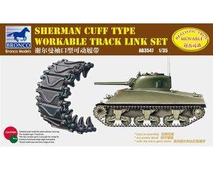 Set orugas de eslabones para Sherman Cuf  (Vista 1)