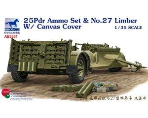 25pdr Ammo set & No.27 Limber w/ Canvas   (Vista 1)