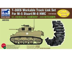 T-36E6 Workable Track Set For M-5/M-8 St  (Vista 1)