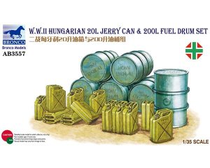 Hungarian 20L Jerry Can & 200L Fuel Drum  (Vista 1)