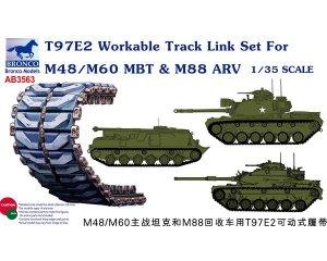 T97E2 Workable Track Link Set For M48/M6  (Vista 1)