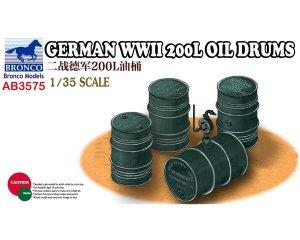 Grman WWII 200L Oil Drums  (Vista 1)