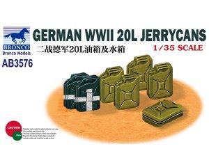 German WWII 20L Jerrycans  (Vista 1)