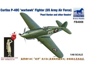 Curtiss P-40C Warhawk Fighter  (Vista 1)