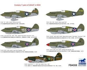 Curtiss P-40C Warhawk Fighter  (Vista 2)