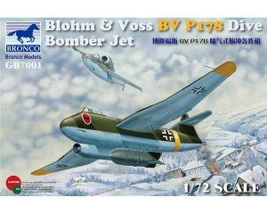 Blohm & Voss BV P178 Dive Bomber Jet  (Vista 1)