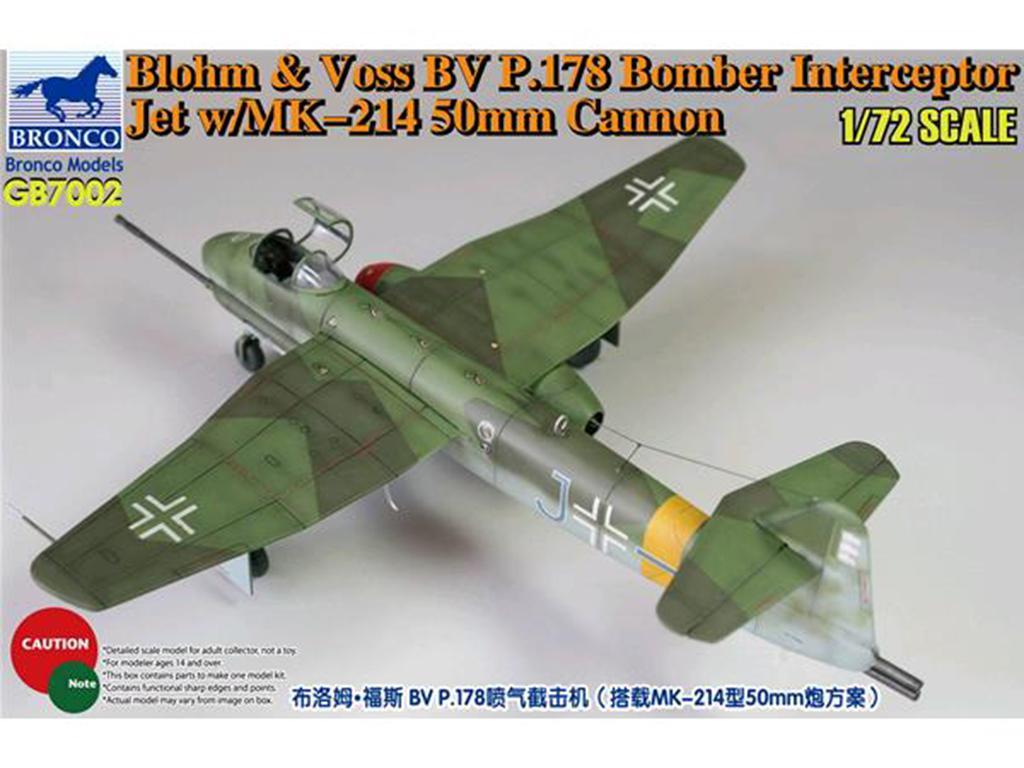 Blohm & Voss BV P.178 Bomber Interceptor  (Vista 1)