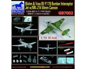 Blohm & Voss BV P.178 Bomber Interceptor  (Vista 3)