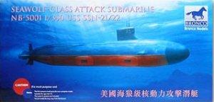 USS SSN21/22 Sea Wolf  (Vista 1)