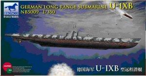 Submarino Alemán Largo alcance Tipo U-I  (Vista 1)
