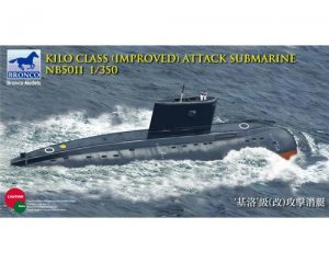 Kilo Class Attack Submarine  (Vista 1)