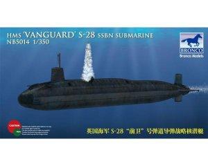HMS-28 'Vanguard' SSBN   (Vista 1)