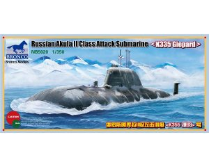 Russia Akula II Class Attack Submarine   (Vista 1)