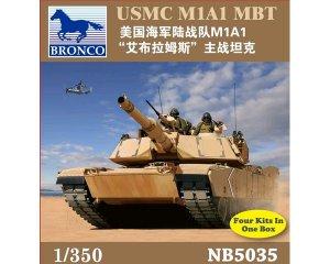USMC M1A1 MBT  (Vista 1)