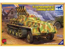 15cm Panzerwerfer 42 (Zehnling) auf SWS  - Ref.: BRON-CB35070