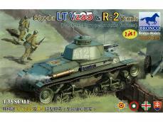 Skoda LT Vz35 & R-2 Tank - Ref.: BRON-CB35105