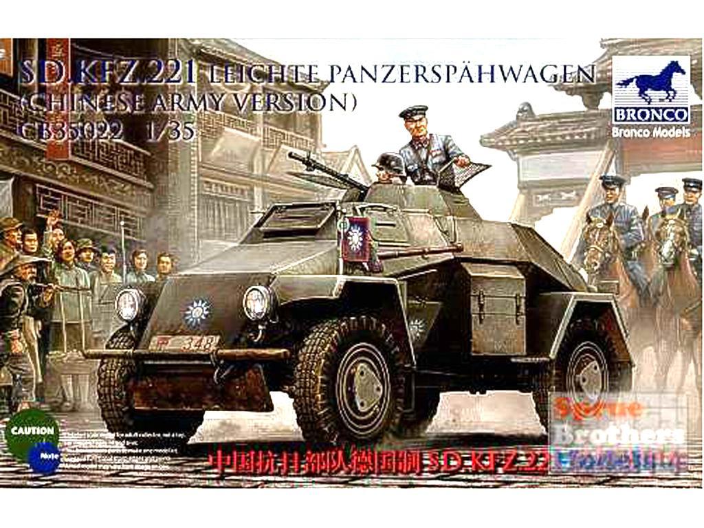 Sd.Kfz.221 Leichte Panzerspahwagen   (Vista 1)