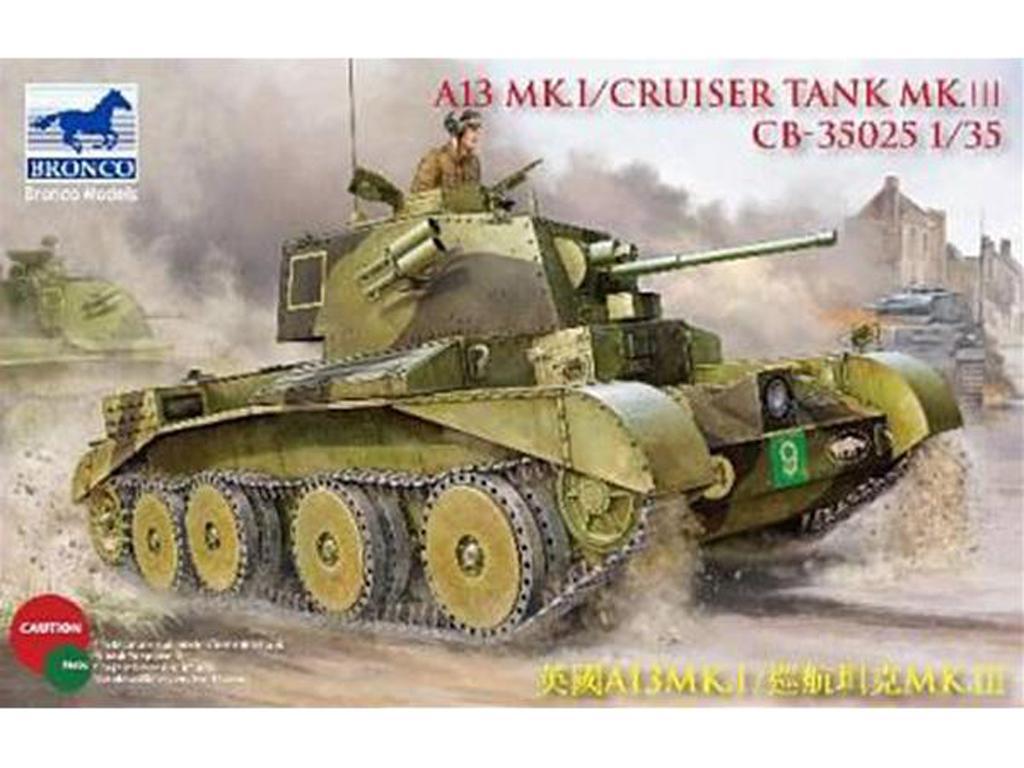 A13 Mk I Cruiser Tank Mk III (Vista 1)