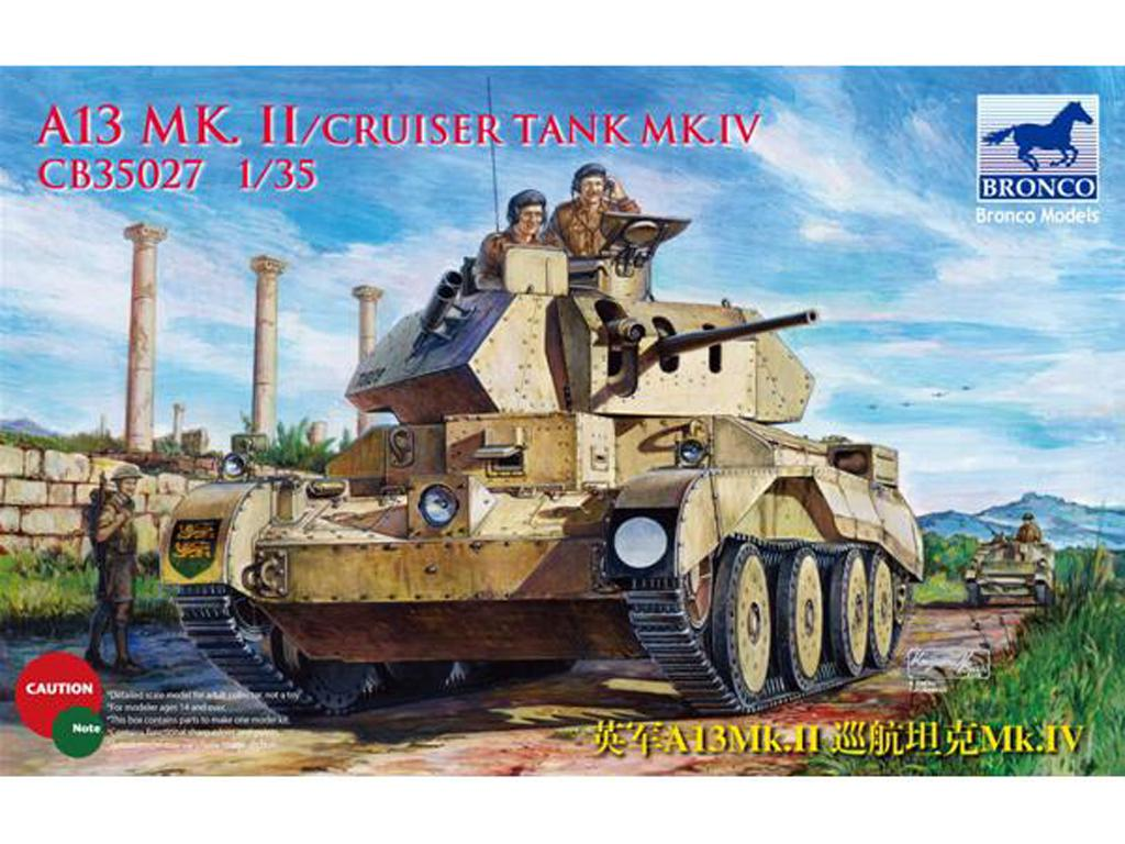 British A13 MK.II Cruiser Tank MK.IV (Vista 1)