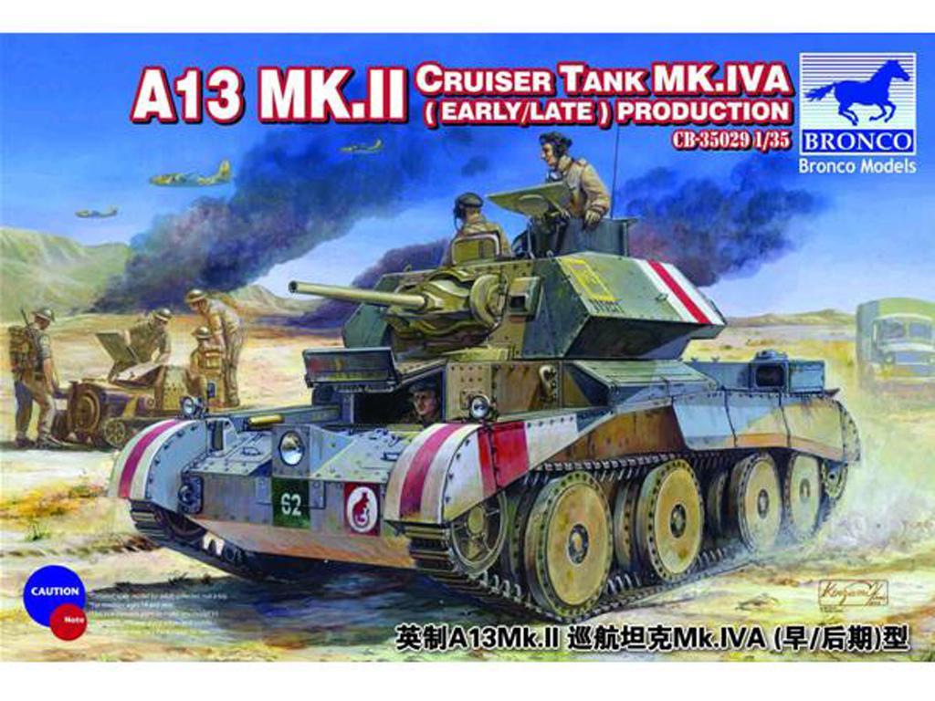 A13 Mk.II Cruiser Tank Mk.IVA (Vista 1)