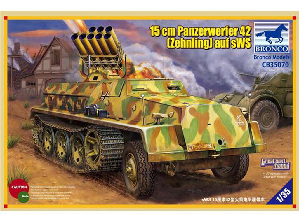 15cm Panzerwerfer 42 (Zehnling) auf SWS  (Vista 1)