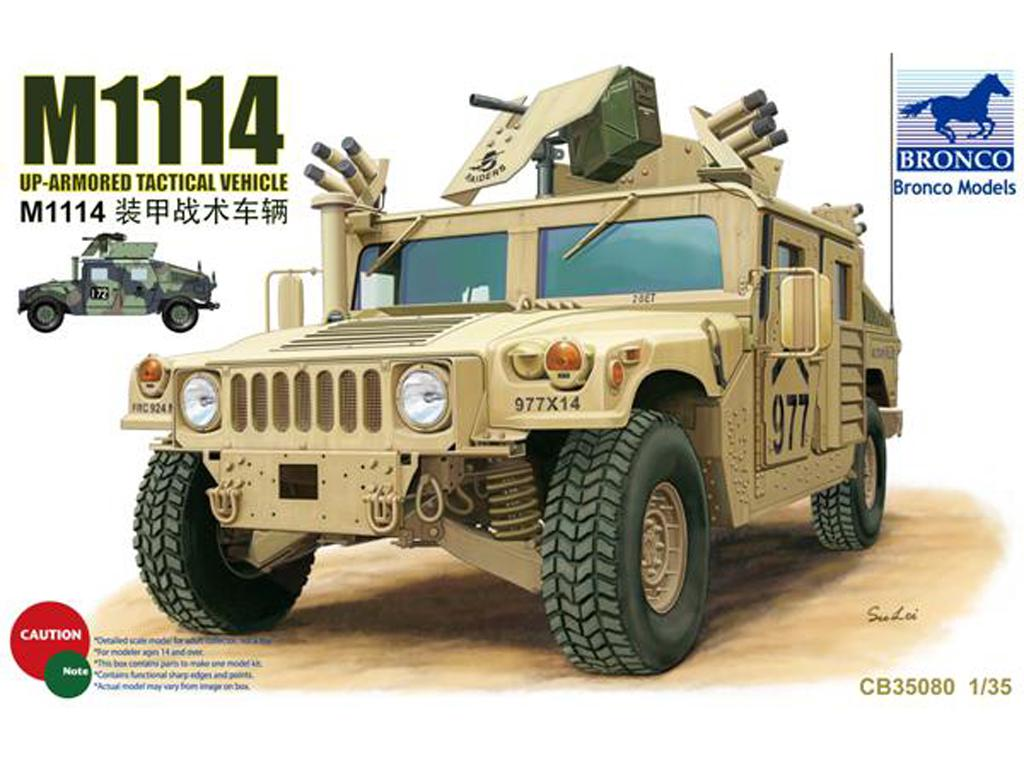 M1114 Up-Armored Tactical Vehicle  (Vista 1)