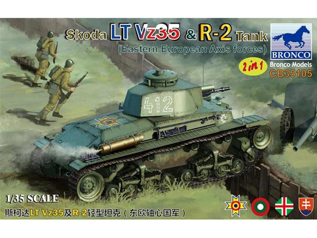 Skoda LT Vz35 & R-2 Tank (Vista 1)