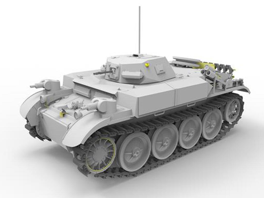Panzerkampfwagen II Flamm Ausf.E (Vista 3)